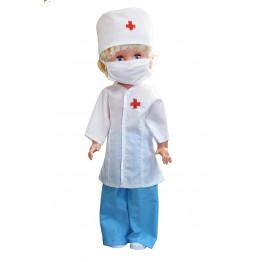 """Одежда для куклы """"Доктор"""" арт.ОК08"""