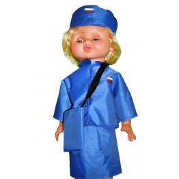 "Одежда для куклы ""Почтальон"" арт. ОК15"