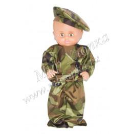 """Одежда для куклы """"Военный КМФ"""" арт. ОК17"""
