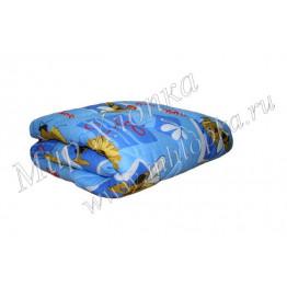 Одеяло 1,5 сп холлофайбер облегченное 145x205 машинная стежка арт. ОП21