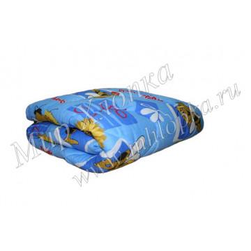 Одеяло детское холлофайбер (Зима) детское 140x100 пл. 300г/м2 арт. ОП07 - 540.00