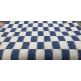 Одеяло байковое клетка (Шуя) 140Х100 арт. ОП15