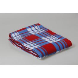 Одеяло 100% хлопок (байковое) клетка 140х205