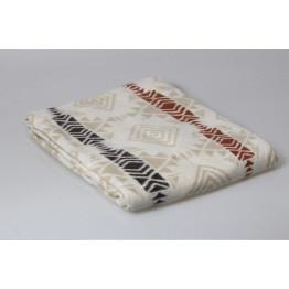 Одеяло 100% хлопок (байковое) жаккард 170х205