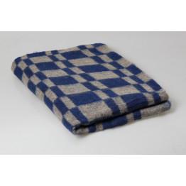 Одеяло 70% шерсть 400 гр Колосок цветное 140х205