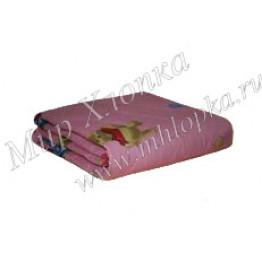 Одеяло шерсть (облегченное) детское (Поликоттон) арт. ОП12