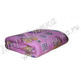 """Одеяло """"шерсть"""" (Зима) детское пл. 400г/м2 100% хб арт. ОП42"""