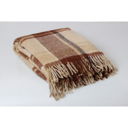 Одеяло-плед 100% шерсть Новая Зеландия 130х180