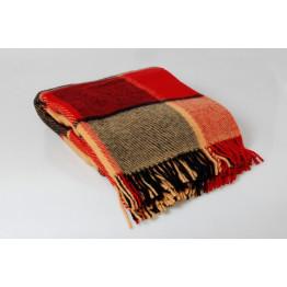 Одеяло-плед 100% шерсть Новая Зеландия 140х200
