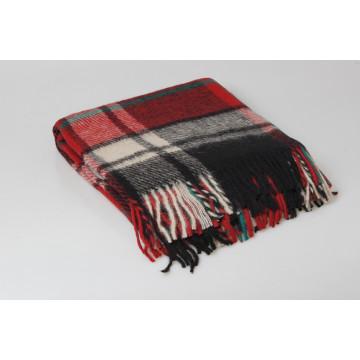 Одеяло-плед 100 шерсть Новая Зеландия 200х220 - 3,060.00
