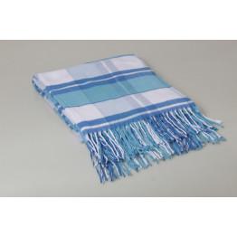 Одеяло-плед 100% хлопок клетка, вафелька 170х200