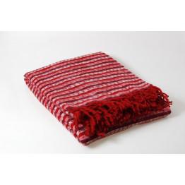 Одеяло-плед 25% шерсть вафелька, волна 130х170