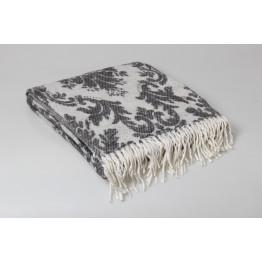 Одеяло-плед 50% шерсть 140х200