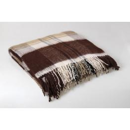 Одеяло-плед 50% шерсть 200х220