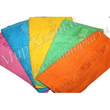 Полотенце махровое гладкокрашенное 40*70 арт. СП05 - 144.00