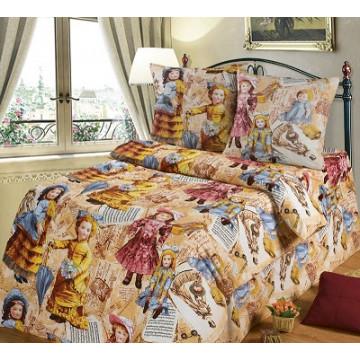"""Комплект постельного белья АД """"Куклы"""" подростковое - 672.00"""