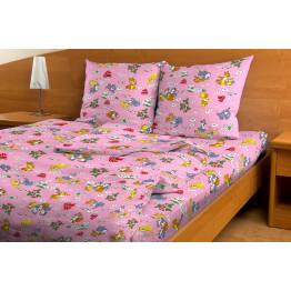 Комплект постельного белья Маленький заяц Красная Талка