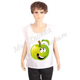 """Жилет принт """"Зеленое яблоко"""" арт. КС283"""
