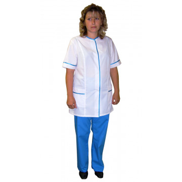 Костюм медицинский ТиСи короткий рукав большой размер арт. СС59 - 1,458.00