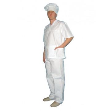 Костюм пекаря бязь ГОСТ Куртка+брюки - 498.00