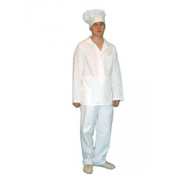 Костюм повара бязь ГОСТ Куртка+брюки - 652.00