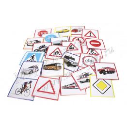 Набор карточек ламинированных для жилета с прозрачным карманом арт. БД16