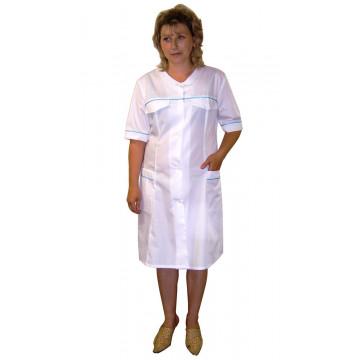 Халат медицинский ТиСи с кокеткой короткий арт. СС55 - 828.00