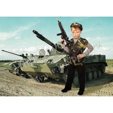 Детский костюм спецназ КМФ арт. КС08 - 324.00