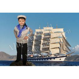 Детский костюм моряка арт. КС16
