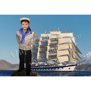 Детский костюм моряка арт. КС16 - 420.00