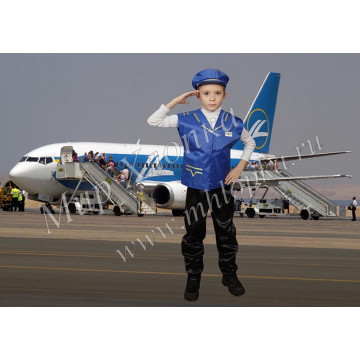 Детский костюм пилота арт. КС13 - 342.00