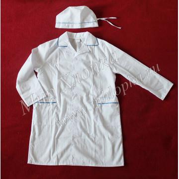 Детский костюм врача (халат+колпак) Тиси арт. КС32 - 546.00
