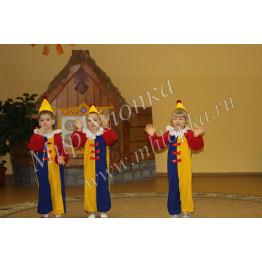 "Костюм ""Клоун"" (4-5 лет) и (6-7 лет) арт. КС113"