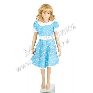 """Платье для танцев """"Горох"""" арт. КС 122 - 732.00"""