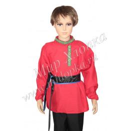 Рубаха+кушак (жел., син., зел., крас.) арт. КС39