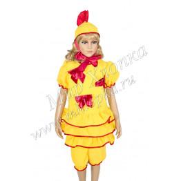 """Костюм для танцев """"Цыпленок""""для девочек арт. КС116"""