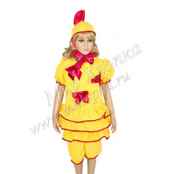 """Костюм для танцев """"Цыпленок""""для девочек арт. КС116 - 720.00"""