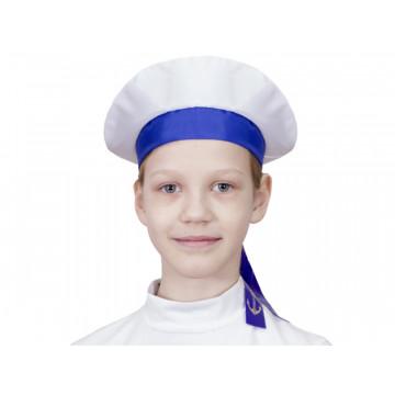 Бескозырка моряка синяя - 144.00