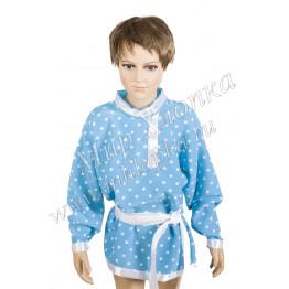 Рубаха для танцев горох + кушак арт. КС137