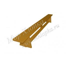 Скамейка гимнастическая желтая арт. СГД06