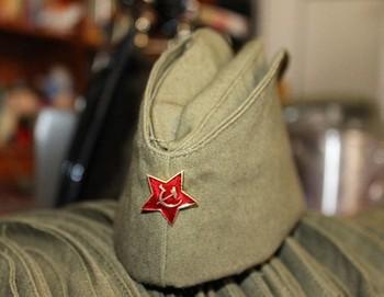 Военная пилотка со звездой арт. КС182